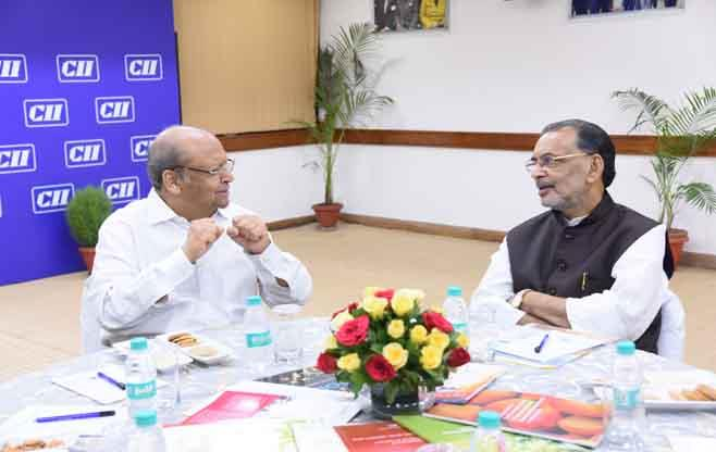 Meeting with Shri Radha Mohan Singh