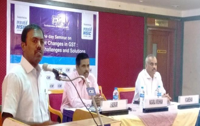 Seminar on Recent Changes in GST