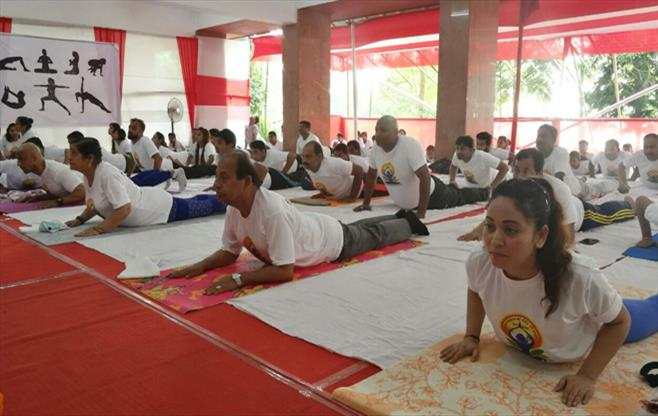 Int.Yoga Day celebrations in Guwahati