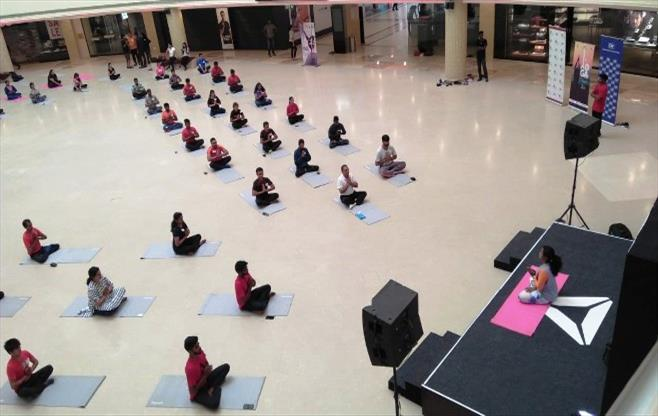 CII Southern Region celebrates Yoga Day