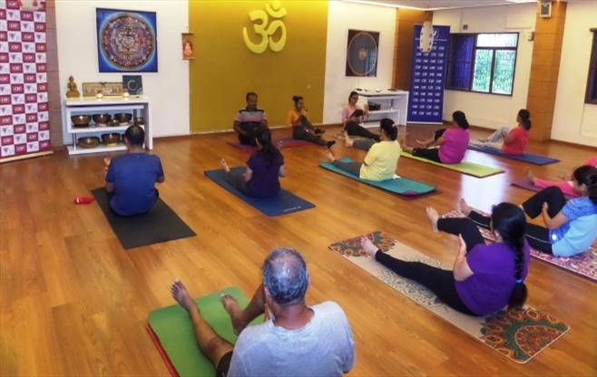 CII Coimbatore celebrates Yoga Day