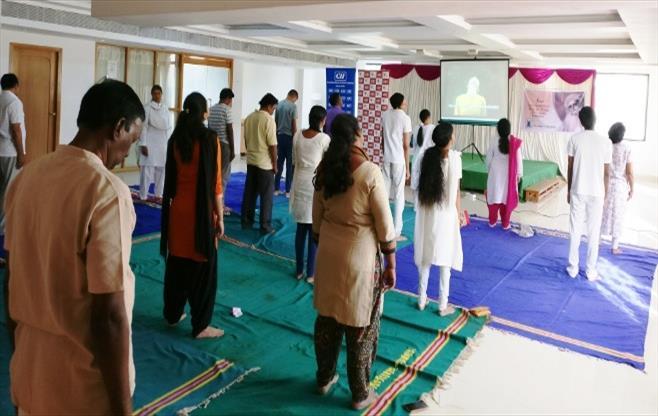 CII Puducherry celebrates Yoga Day