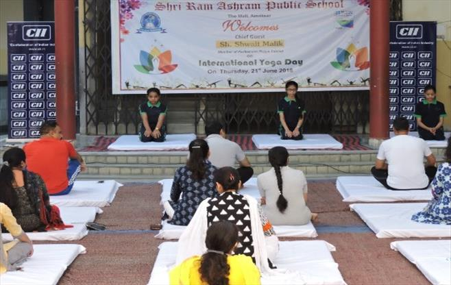 CII Amritsar  celebrates Yoga Day