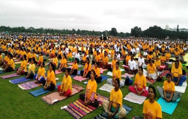 CII Mysore celebrates Yoga Day