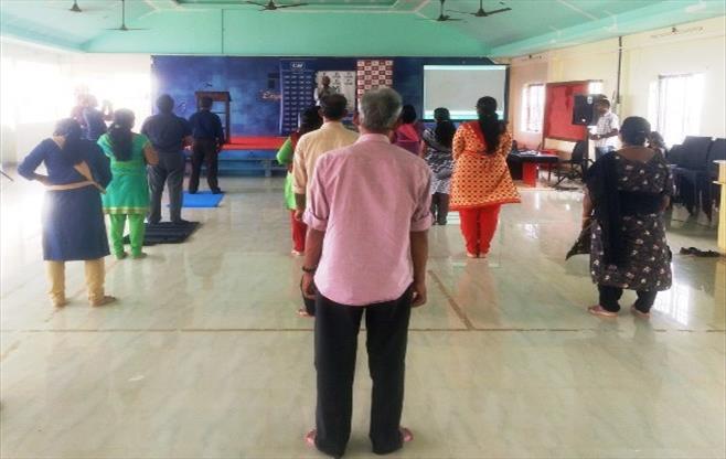 CII Trivandrum celebrates Yoga Day