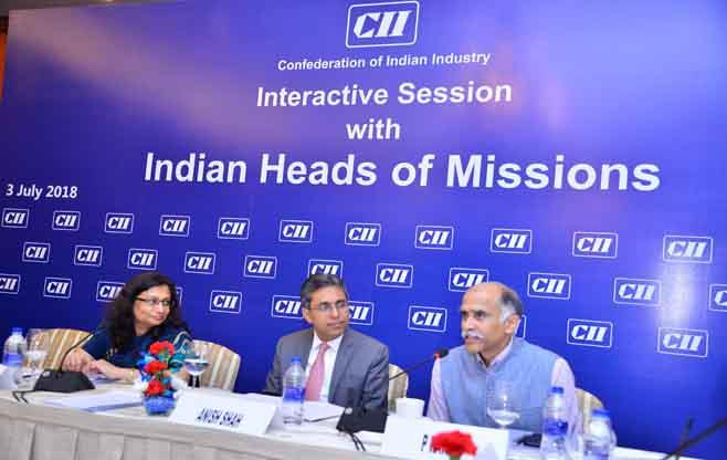 Session with Indian Heads of Mission
