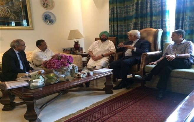 CII President Meeting with CM Punjab