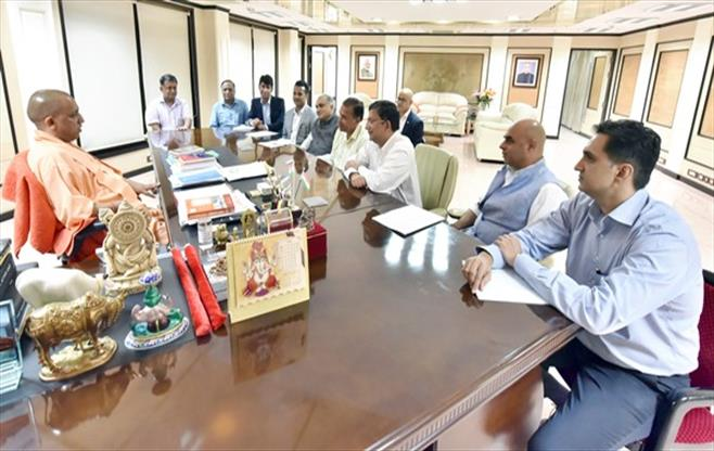 CII Delegation with CM Uttar Pradesh