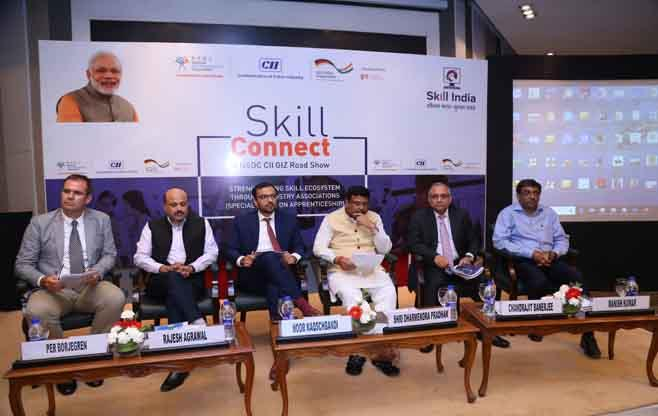 NSDC-CII-GIZ Skill Connect Road Show