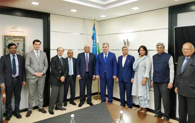 CII CEOs Call on  H E Mr S Kholmuradov