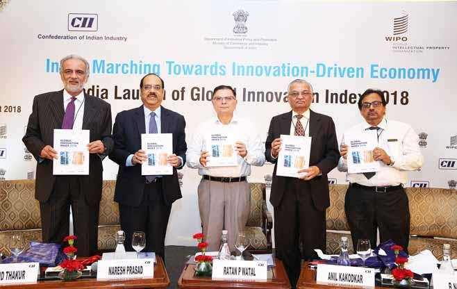 India Launch of Global Innovation Index