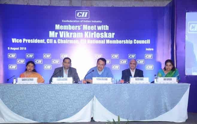 Members' Meet with Mr Vikram Kirloskar