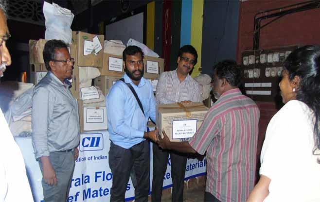 CII Kerala Flood Relief &Rehabilitation