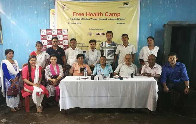 Free Health Camp by IWN