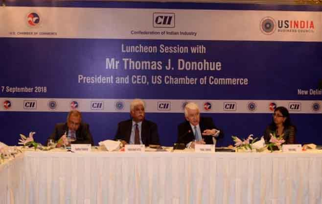 Session with Mr Thomas J. Donohue