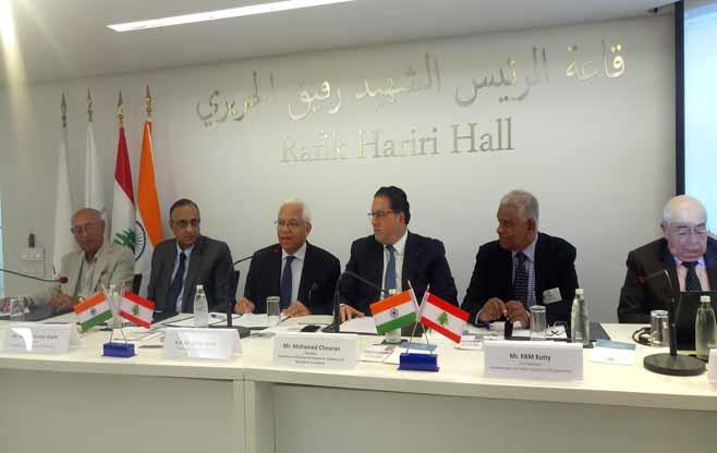 India Lebanon Business Meeting
