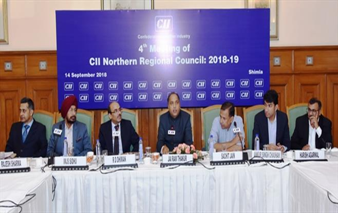 CII Northern Regional Council Meet