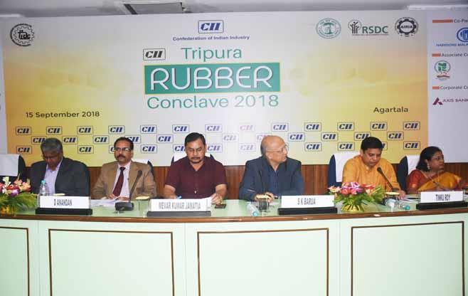 Tripura Rubber Conclave 2018