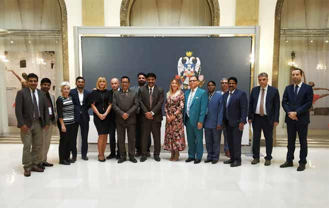 Indian Business Delegation to Serbia