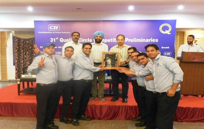 31st CII  Quality Circle Competition