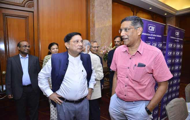 Interaction with Dr Arvind Subramanian