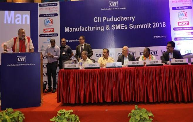 CII Manufacturing and SMEs Summit 2018