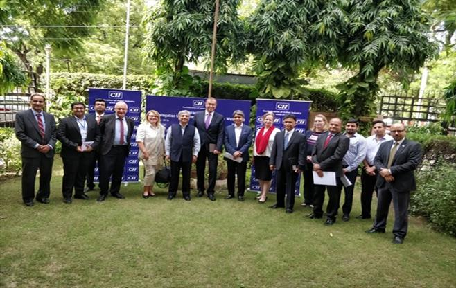 Session with German Delegation