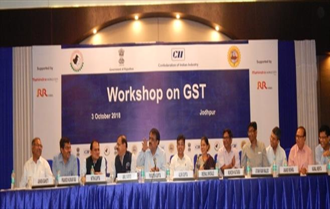 Workshop on GST held at Jodhpur