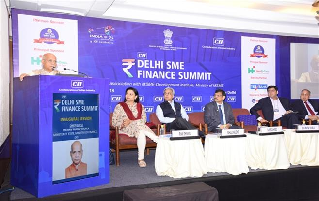 CII Delhi SME Finance Summit 2018