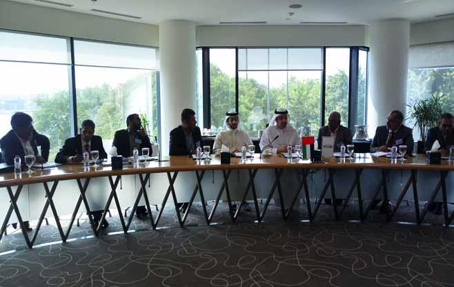 Meeting with Dubai Chamber