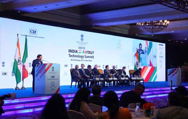DST-CII India-Italy Technology Summit