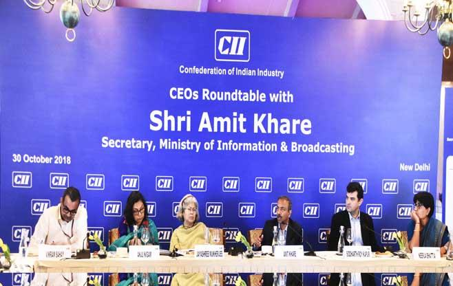 CII CEOs Roundtable meeting