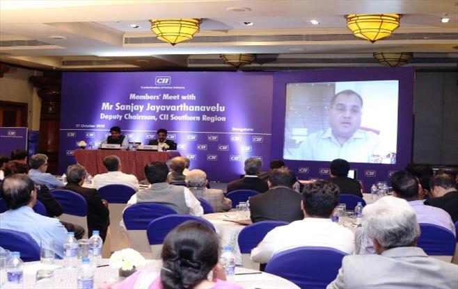 Session with Mr Sanjay Jayavarthanavelu