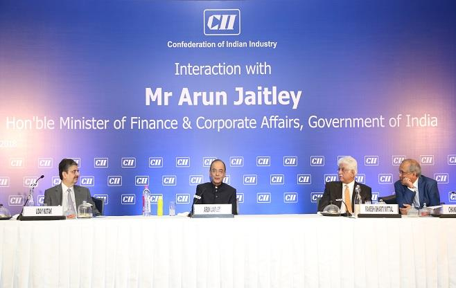 Interaction with Mr Arun Jaitley