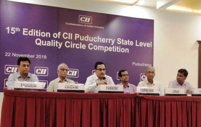 15th CII Puducherry QC Competition