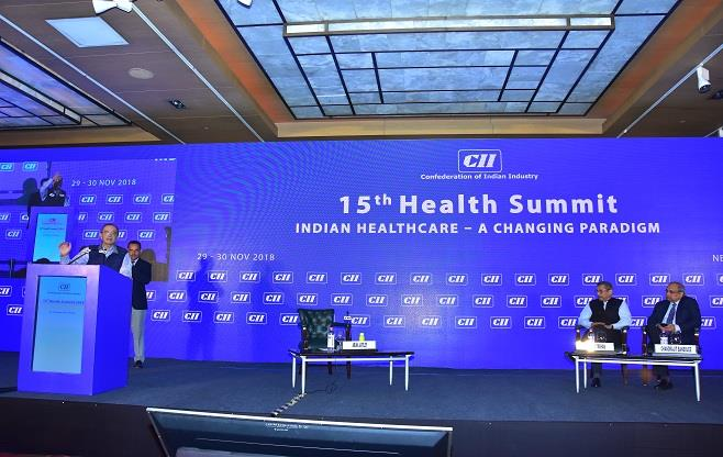 15th CII Health Summit 2018