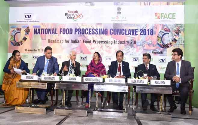 National Food Processing Conclave 2018