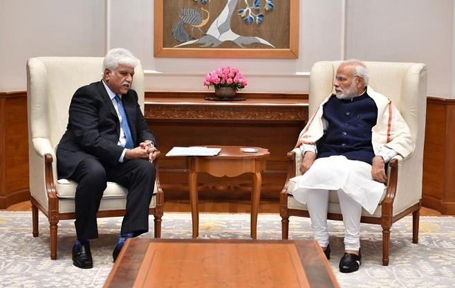 CII President meets the Prime Minister