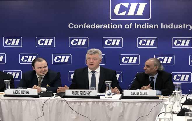 Session with Ambassador of Belarus