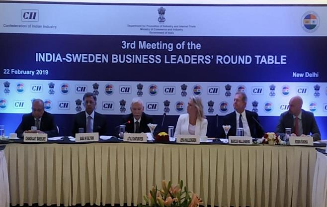 India-Sweden Business Leaders' meeting
