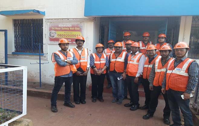 Safety Mission at Noamundi Iron Mine