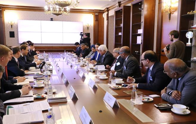 CII CEOs delegation to Russia