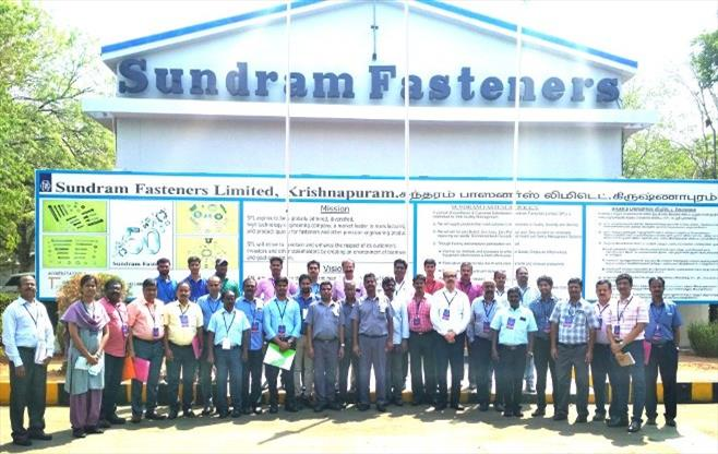 Learning Mission to Sundram Fasteners