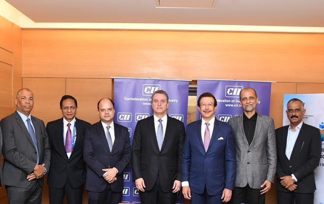 CII Delegation with Mr Roberto Azevedo