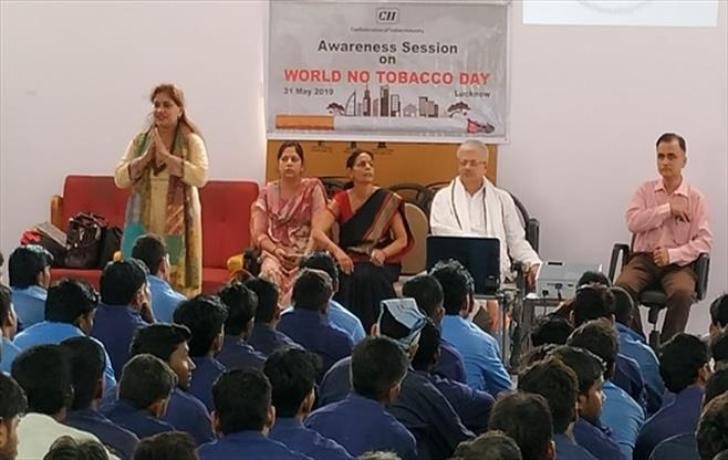 Awareness Session on No Tobacco