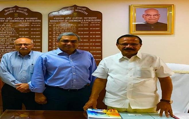 CII Delegation calls on Shri Gowda