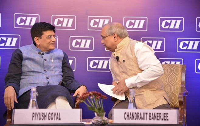 Interaction with Mr Piyush Goyal