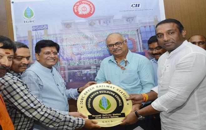 Award of CII- IGBC