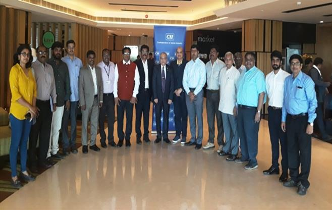 Breakfast Session with Mr Jayant DPatil