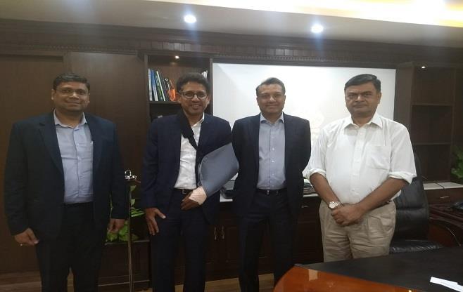 Meeting with Shri Raj Kumar Singh
